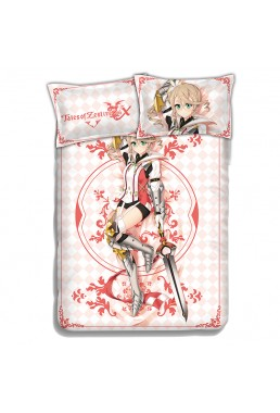Alisha-Tales of Zestiria Japanese Anime Bed Sheet Duvet Cover with Pillow Covers