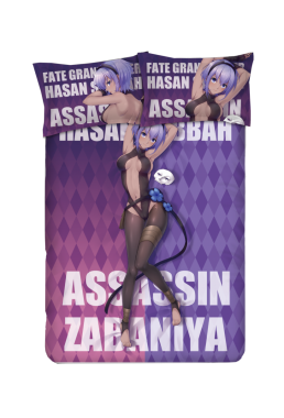 Assassin - Fate Grand Order Anime Bed Sheet Duvet Cover with Pillow Covers