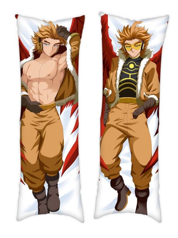 My Hero Academia Hawks Anime Dakimakura Pillowcover Japanese Love Body Pillowcase