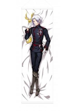 Allen Walker D.Gray-man Male Anime Wall Poster Banner Japanese Art