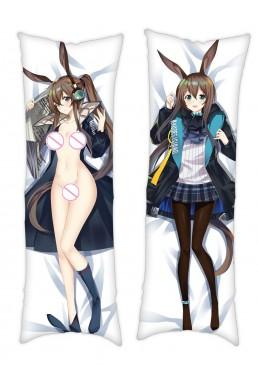 Arknights AMIYA Anime Dakimakura Japanese Hug Body PillowCases