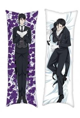 Black Butler Sebastian Anime Dakimakura Japanese Hug Body PillowCases