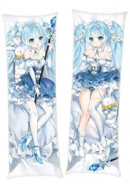 2019 Snow Miku Japanese character body dakimakura pillow cover