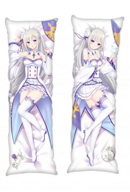 Emilia Re:Life in a different world from zero Anime Dakimakura Japanese Hugging Body PillowCases