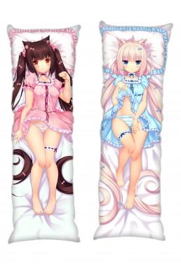Chocola Vanilla NekoPara Anime Dakimakura Japanese Hugging Body PillowCases