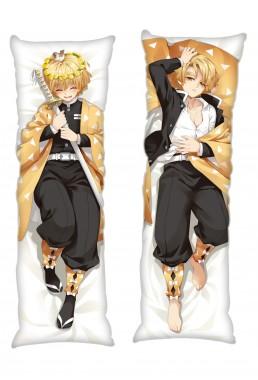 Kimetsu no Yaiba Agatsuma Zenitsu Anime Dakimakura Japanese Hugging Body PillowCases