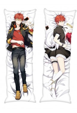 Saeyoung Luciel Choi Defender of Justice 707 Mystic Messenger Male Anime Dakimakura Japanese Hugging Body PillowCases