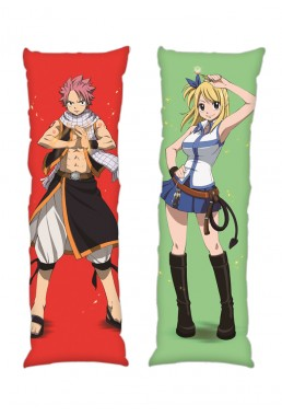Fairy tail Lucy Heartfilia Gray Fullbuster Anime Dakimakura Japanese Hugging Body PillowCases